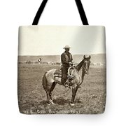 Wyoming: Cowboy, C1883 Tote Bag