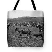 Wyoming: Cowboys, C1890 Tote Bag