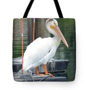 Wyoming Pelican Tote Bag