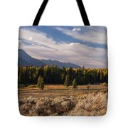 Wyoming Scenery One Tote Bag