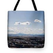 Wyoming Skies Tote Bag