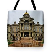 Wyoming State Capital Building  Tote Bag