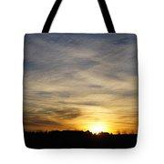 Wyoming Sunrise Tote Bag