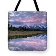 Wyoming Sunset Tote Bag