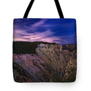Wyoming Sunset Tote Bag
