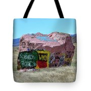 Wyoming Tech Tote Bag