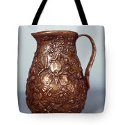 Wyoming Wildflowers Bronze Pitcher Tote Bag