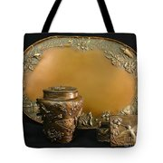 Wyoming Wildflowers Bronzes Tote Bag