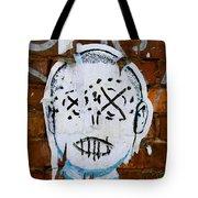 X Eyes Tote Bag