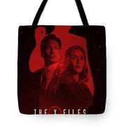 X-files  Tote Bag