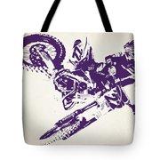 X Games Motocross 3 Tote Bag