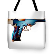 X-ray Art Of Walther P38 No.2 Tote Bag