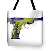 X-ray Art Of Walther P38 No.5 Tote Bag