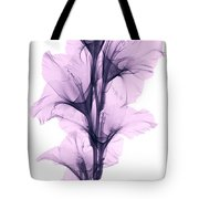 X-ray Of A Gladiola Flower Tote Bag