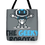 Xero The Robot Tote Bag