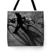 Xian Bike Lines Tote Bag
