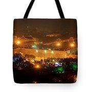 Xian City Lights Tote Bag