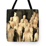 Xian Terracotta Warriors Tote Bag