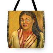 Xochitl Illustration  Tote Bag by Lilibeth Andre