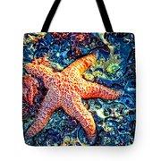 Yachats Oregon - Sea Star Tote Bag