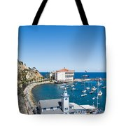 Yacht Club And The Casino Tote Bag