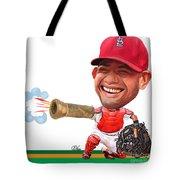 Yadier Molina Tote Bag