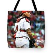 Yadier Molina, St. Louis Cardinals Tote Bag