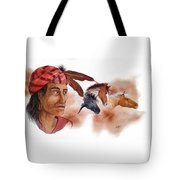 Yahula And His Horses Tote Bag