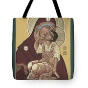 Yakhrom Icon Of The Mother Of God 258 Tote Bag