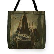 Yakovlev, Alexander 1887-1938 Merguez Seller In Tunis Tote Bag
