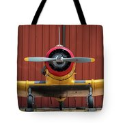 Yale And Hangar - 2018 Christopher Buff, Www.aviationbuff.com Tote Bag