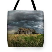 Yale Supercell Pano  Tote Bag