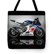 Yamaha Rossi Rep Tote Bag