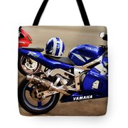 Yamaha Yzf-r6 Motorcycle Tote Bag