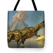 Yangchuanosaurus Dinosaurs Tote Bag