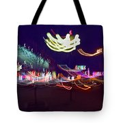 Yangshuo Trees By Night Tote Bag