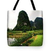 Yangshuo's Limestone Karsts Tote Bag