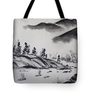 Yangze River Tote Bag