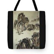 Yangze River In Autumn Tote Bag