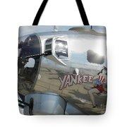 Yankee Lady Nose Art Tote Bag