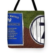 Yankee Legends Number 7 Tote Bag