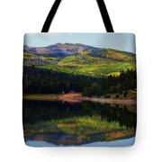 Yankee Meadows Lake Tote Bag