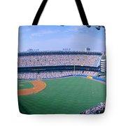 Yankee Stadium Ny Yankees V. Tampa Tote Bag