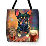Yappy Hour Tote Bag