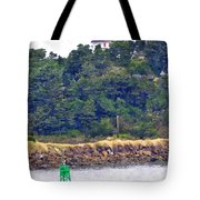 Yaquina Bay Lighthouse Tote Bag