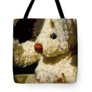 Yard Sale Bunny Tote Bag