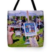 Yard Sale Day Tote Bag