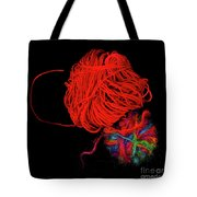 Yarn Leftovers Tote Bag