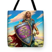 Yarrow - Protective Shield Tote Bag by Anne Wertheim