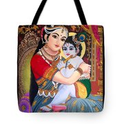Yashoda  Krishna  Tote Bag